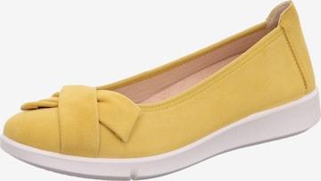 Legero Ballet Flats 'Lucca' in Yellow