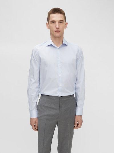 J.Lindeberg Overhemd in de kleur Lichtblauw / Wit: Vooraanzicht