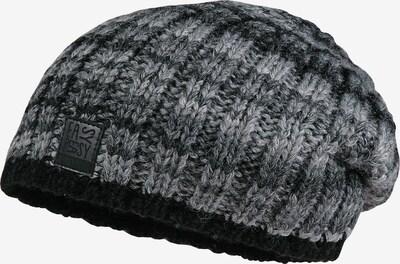 MAXIMO Beanie in grau / schwarz, Produktansicht