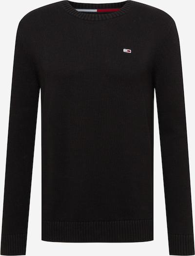 Tommy Jeans Pull-over en noir, Vue avec produit