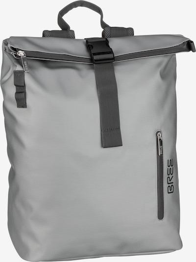 BREE Kurierrucksack in schwarz / silber, Produktansicht