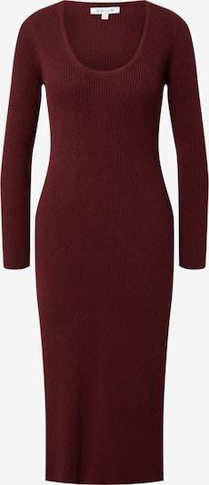NU-IN Pletena obleka | burgund barva, Prikaz izdelka