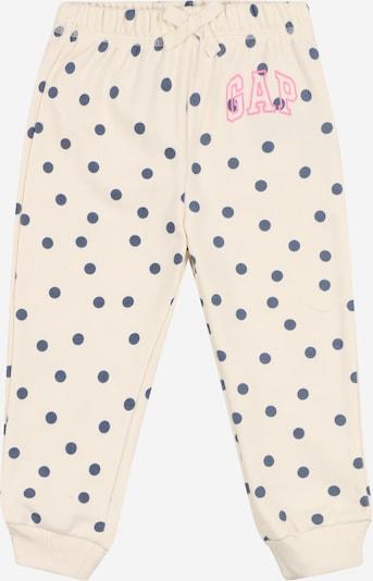 GAP Hose in taubenblau / pink / weiß, Produktansicht