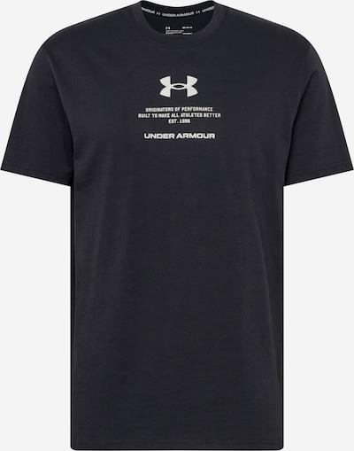 UNDER ARMOUR Functioneel shirt in de kleur Lichtgrijs / Zwart, Productweergave