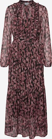 VERO MODA Kleid in dunkelrot / schwarz, Produktansicht