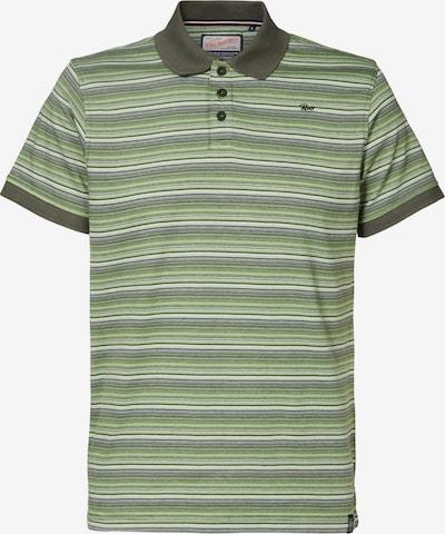 Petrol Industries T-Shirt en vert, Vue avec produit