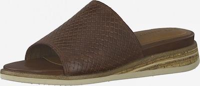 TAMARIS Pantolette in kastanienbraun, Produktansicht