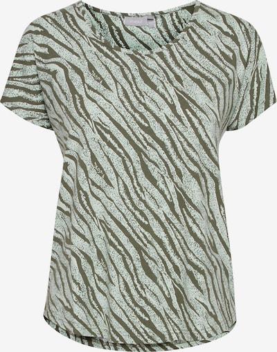 Fransa Shirt mit Allover Print in grün, Produktansicht