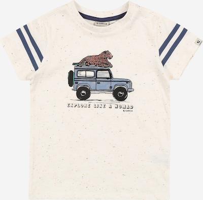 GARCIA Shirt in navy / rauchblau / pastellrot / schwarz / weißmeliert, Produktansicht