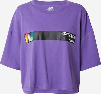 new balance Majica   temno liila / mešane barve barva, Prikaz izdelka