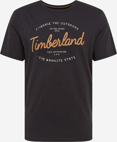 TIMBERLAND Tričko - hořčicová / černá / bílá, Produkt