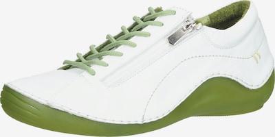 COSMOS COMFORT Sportlicher Schnürschuh in grasgrün / weiß, Produktansicht