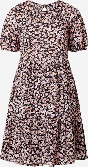 ONLY Kleid 'PELLA' in goldgelb / koralle / hellpink / schwarz / weiß, Produktansicht