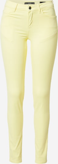 GUESS Jeans 'CURVE X' in Light yellow, Item view