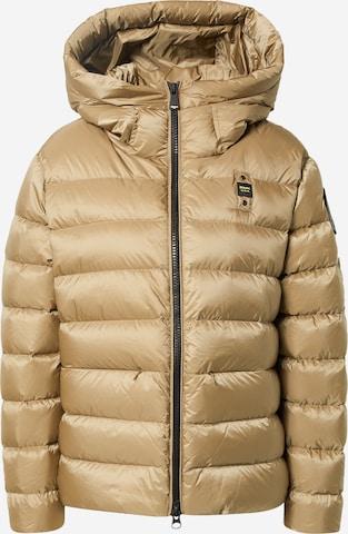 bēšs Blauer.USA Ziemas jaka