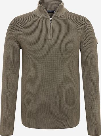 JOOP! Jeans Kampsun 'Henricus', värv roheline