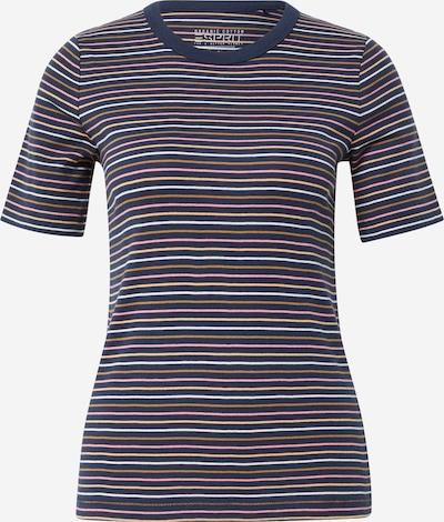 ESPRIT Shirt in de kleur Navy / Gemengde kleuren, Productweergave