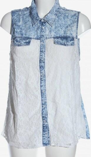 Janina Hemd-Bluse in L in blau / weiß, Produktansicht