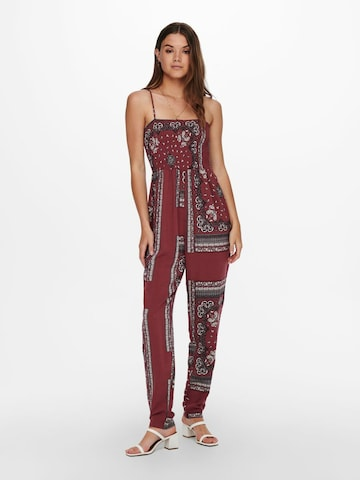 ONLY Jumpsuit in Rood