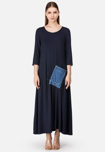 HELMIDGE Maxikleid in blau, Modelansicht