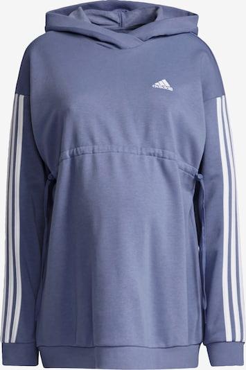 ADIDAS PERFORMANCE Sweat de sport en lavande / blanc, Vue avec produit