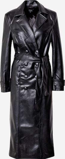 Palton de primăvară-toamnă Bardot pe negru, Vizualizare produs