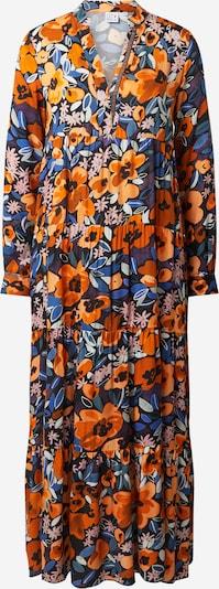 Emily Van Den Bergh Robe en bleu / orange / rose / noir / blanc, Vue avec produit