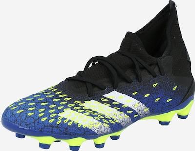 ADIDAS PERFORMANCE Zapatos de fútbol 'Predator Freak.3' en navy / amarillo neón / negro / blanco, Vista del producto