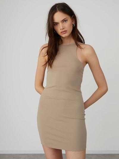 LeGer by Lena Gercke Vestido 'Asya' en taupe, Vista del modelo