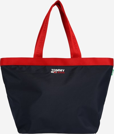 Tommy Jeans Shopper in navy / rot / weiß, Produktansicht