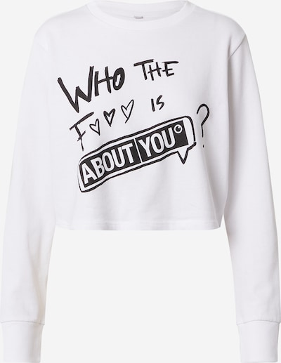 ABOUT YOU Limited Longsleeve  'Eliza' in weiß, Produktansicht