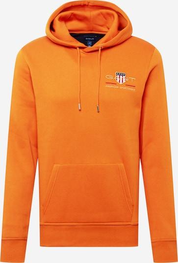 GANT Sweatshirt en orange, Vue avec produit