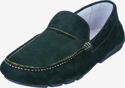 Van Lier Mocassin en vert, Vue avec produit