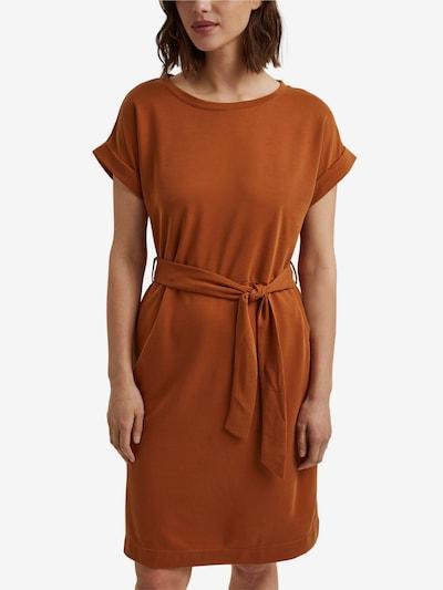 ESPRIT Robes en maille en marron, Vue avec modèle