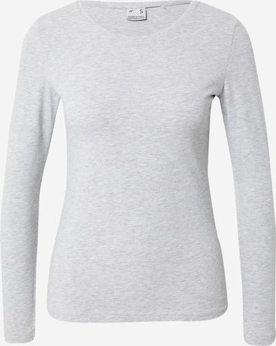 4F T-shirt fonctionnel en gris chiné, Vue avec produit