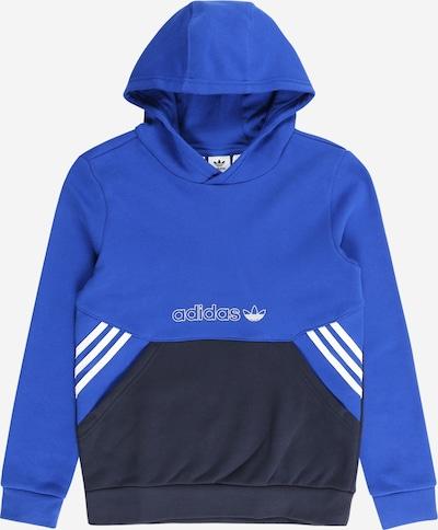 ADIDAS ORIGINALS Sudadera en azul real / azul ultramarino / blanco, Vista del producto