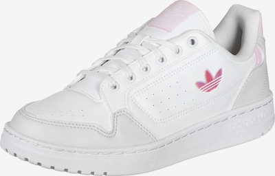 ADIDAS ORIGINALS Sneakers 'NY 90' in Light grey / Light pink / White, Item view