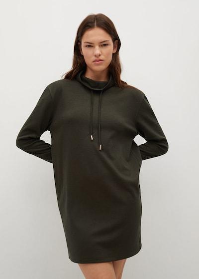 MANGO Kleid 'amelie' in khaki, Modelansicht