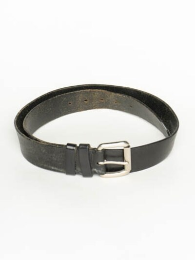 LEVI'S Ledergürtel in XXL in schwarz, Produktansicht