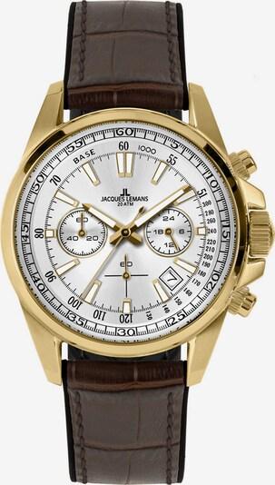 Jacques Lemans Uhr in braun, Produktansicht