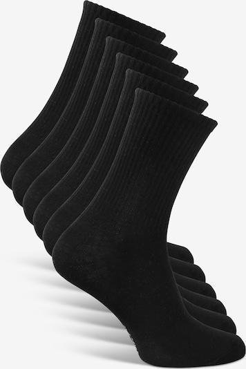 Classics Tennissocken 'Crew Socks' in schwarz: Frontalansicht
