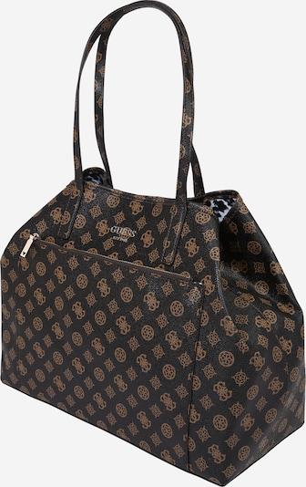 GUESS Shopper torba 'VIKKY' u smeđa / svijetlosmeđa, Pregled proizvoda