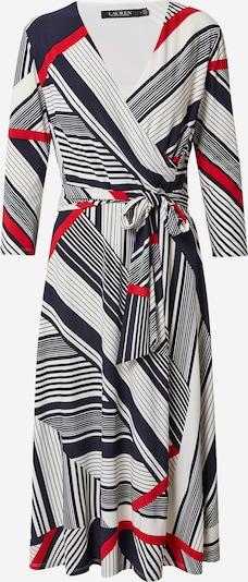 Lauren Ralph Lauren Kleid  'CARLYNA' in rot / schwarz / weiß, Produktansicht