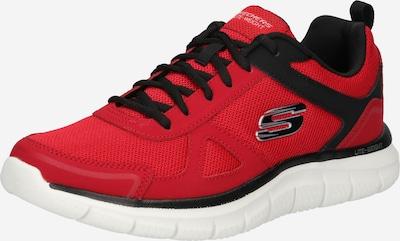 SKECHERS Baskets basses en rouge / noir / blanc, Vue avec produit