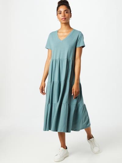 Noisy may Kleid 'MARBLE' in rauchblau, Modelansicht