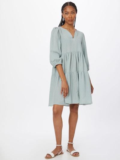 KAREN BY SIMONSEN Kleid 'Hamy' in mint / weiß, Modelansicht