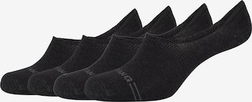 MUSTANG Ankle Socks in Black