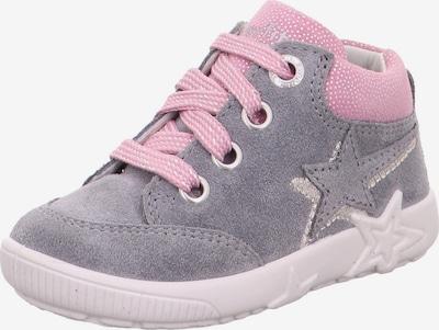 SUPERFIT Buty dziecięce 'STARLIGHT' w kolorze jasnoszary / różowy pudrowym, Podgląd produktu