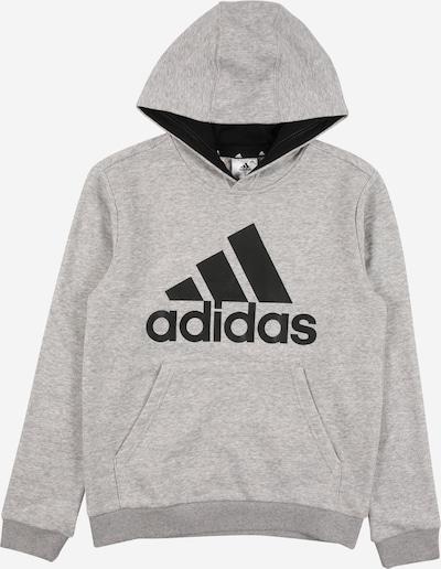 ADIDAS PERFORMANCE Sportsweatshirt in graumeliert / schwarz, Produktansicht