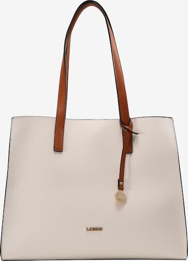 L.CREDI Shopper 'Erpel' in weiß, Produktansicht